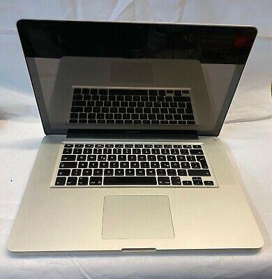 Apple MacBook Pro 15 inch Mid 2010 - Silver