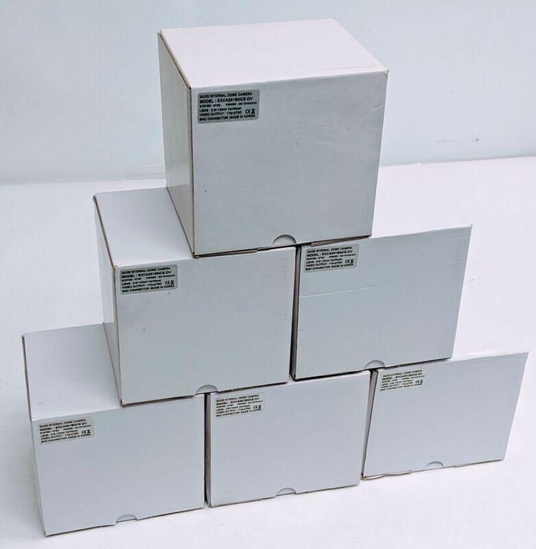 "Lot of 6 NEW Indoor Security Cameras 1/3"" Sony 960H Super HAD CCD II 700TVL"