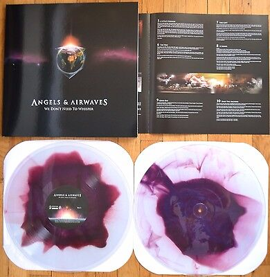 Angels And Airwaves   We Dont Need To Whisper Vinyl Clear Purple 2Xlp New  1000
