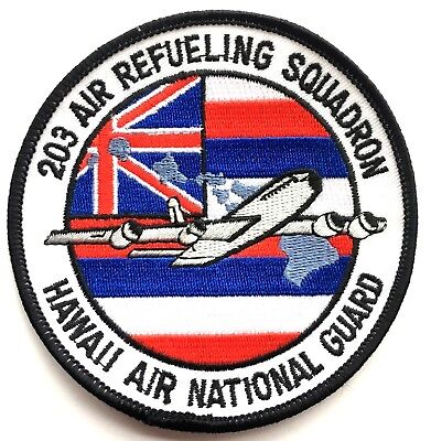 USAF 203 Refueling Squadron, Hawaii Air National Guard Embroidered Patch