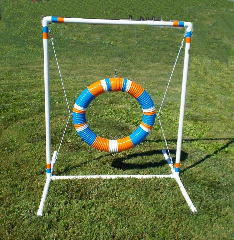 dog agility equipment tire jump