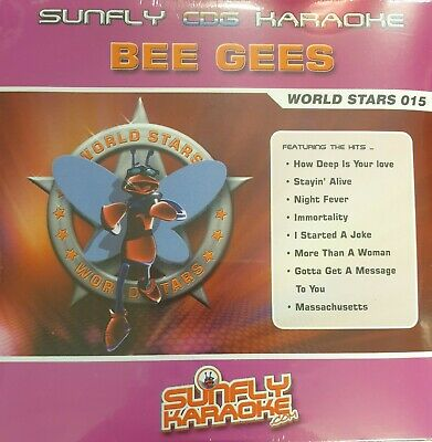 Sunfly Karaoke World Stars CDG Disc (SFWS015) - Bee Gees for sale  Shipping to Ireland
