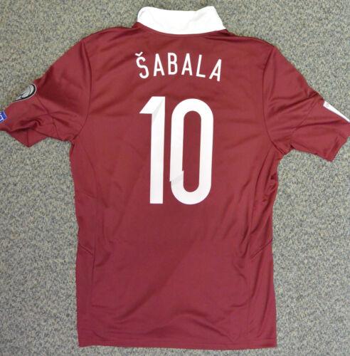 VALERIJS SABALA national football team LATVIA  jersey  (WORLD CUP 2018model)