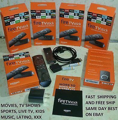 TVADDONS Fire TV Stick w/ Alexa Voice Remote - 2nd Gen - TVADDONS 17.1