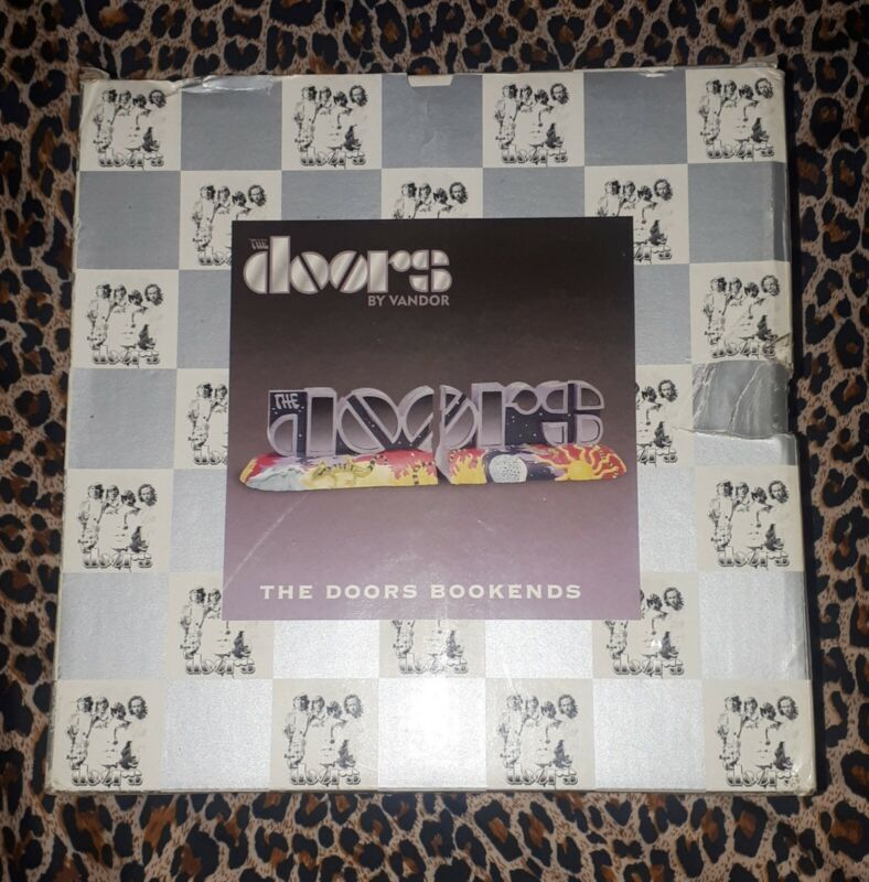 The Doors - Super Rare Vandor Ceramic Bookends, 2000 w/ Original Box