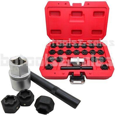 22pc Locking Wheel Bolt Nut Removal Set Master Key Kit 4 BMW Series Wheel Lock