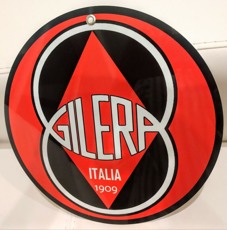Gilera Scooter Motorcycle motorcycles sign ... Italy