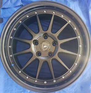 SET OF FOUR (4) FORGE AUTO 18x8 5/114.3 et40 F-50 South Plympton Marion Area Preview