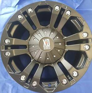 SET OF FOUR (4) KMC 18x9 12/135-139.7 et18 XD778 Morley Bayswater Area Preview