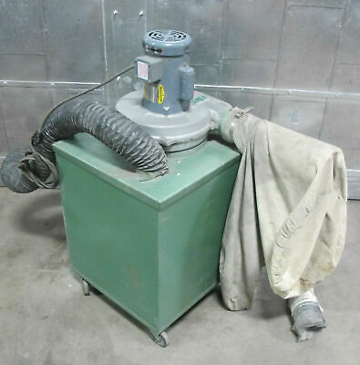 Kei Model 2105-1 Cabinet Dust Collector 12 Hp Baldor Motor 1 Phase Made In Usa