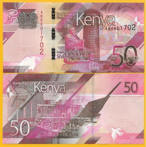 Kenya 50 Shillings P-NEW 2019 UNC Banknote