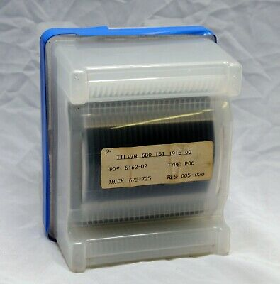Silicon Wafers - 25 Pack - Type P06 Wafer Tti 6bo Tst 1915 00 Thick 625-725