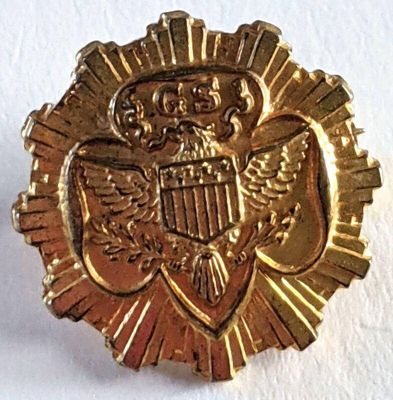 Girl Scout Senior Membership Sorority Style Pin, B Hallmark, 1938-1963