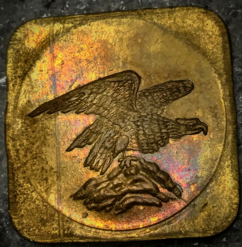 EAGLE TOKEN - 2 1/2 CENT - A.L., PITTSBURGH, PA