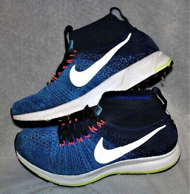 Nike Boys Blue Shoes Size 5Y sox