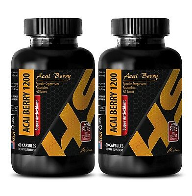 Best weight loss pills - SUPER ANTIOXIDANT ACAI BERRY 1200 Detox diet 2