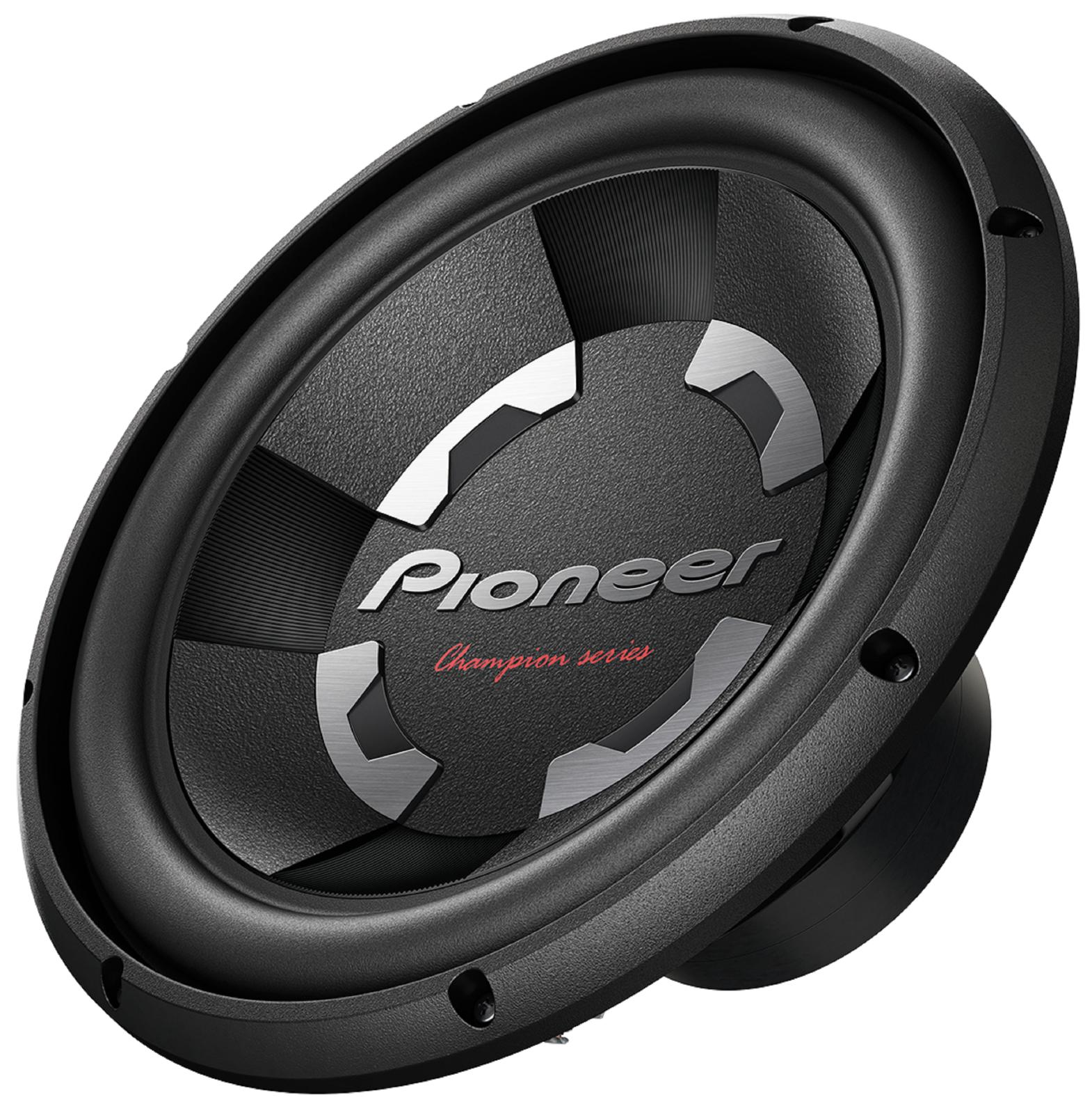 "PIONEER TS-300D4 12"" 1400W 4-OHM DVC CAR AUDIO STEREO SUBWOO"