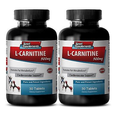 Best Fat Burner - L-Carnitine 500mg - Amino Acid for Good Health Pills 2