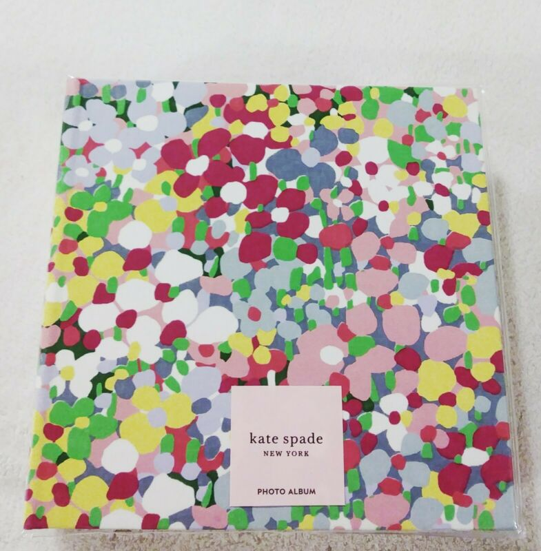 Kate Spade New York Floral Dot Photo Album Multi-Color New