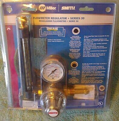 Miller Smith 32-80-580-6 Series 30 Flowmeter Regulator For Argon Co2 Brand New