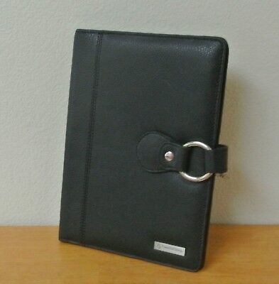 Black Leather - Franklin Covey Classic Wirebound Planner Cover