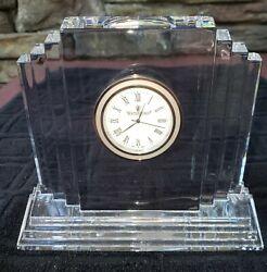 Waterford Metropolitan Clock - Deco