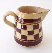 Antique Stoneware Pitcher