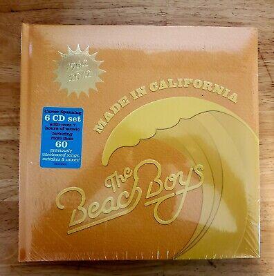 THE BEACH BOYS ~ MADE IN CALIFORNIA  2013 US 6 CD BOX SET NEW SEALED !