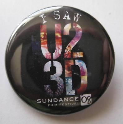U2 - U2-3D Sundance Film Festival Movie Premier Pin 2008 Rare Bono for sale  Sammamish