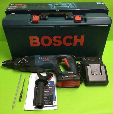 Bosch Bulldog 1 Sds-max Rotary Hammer W Batt Charger Gbh18v-26dk15 Used