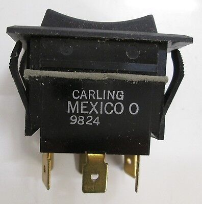 Carling Switch 3-position Rocker Switch 9824