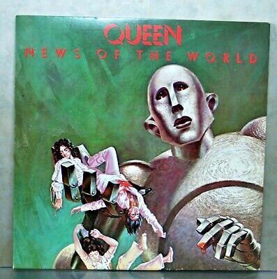 Queen - News Of The World - UK Vinyl Pressing - 1977 - 5355-3, 5356-3