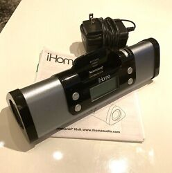 iHome iP16 Portable Speaker System iPod iPhone Dock Charge Station Alarm Clock