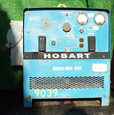 1 Used Hobart Rcvs-650 Mega-mig 650 Welder Make Offer