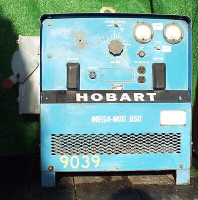 1 Used Hobart Rcvs-650 Mega-mig 650 Welder Make Offer