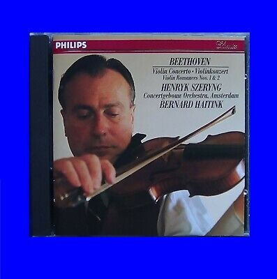 Henryk Szeryng Philips 416418-2 W. Germany Full Silver Noifpi Beehoven CD