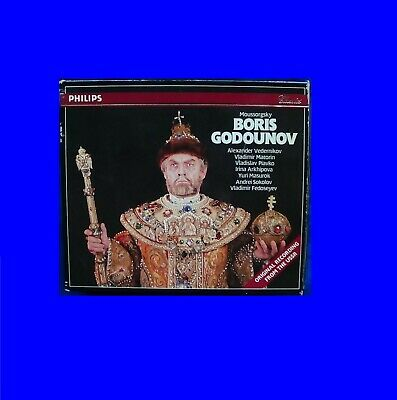 Vladimir Fedoseyev Philips W Germany Polygram Noifpi Moussorgsky Godounov Box3CD