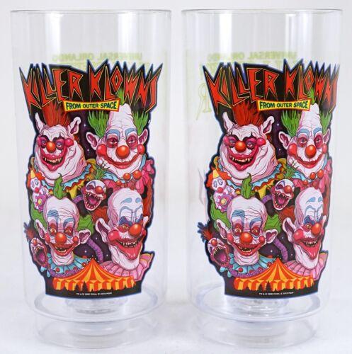 New Set Of 2 Universal Halloween Horror Nights 2019 Killer Klowns Light Up Cup
