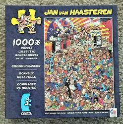 Jan van Haasteren Jigsaw Puzzle - Rock Around the Clock - Ceaco 1000 pc
