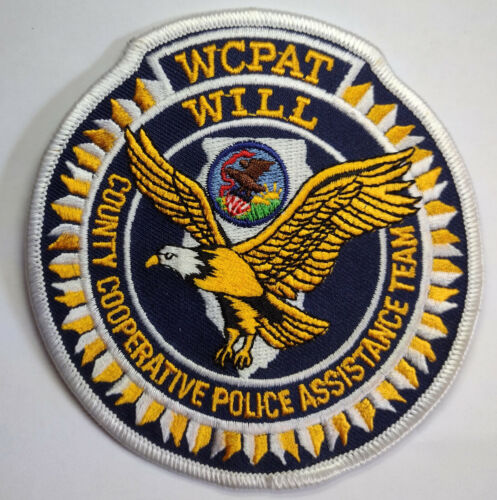 Will County Illinois Cooperative Police Assistance Team Patch / FREE US SHIPPING