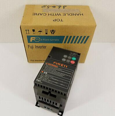 Fuji Fvr0.1e11s-2 Inverter 200-230v 3 0..2400hz 0.8 A Output - New