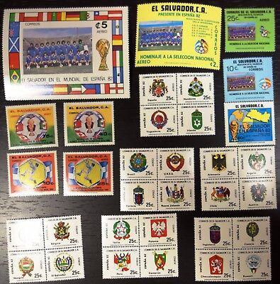 1982 Soccer, Football World Cup, Salvador, MNH (303)