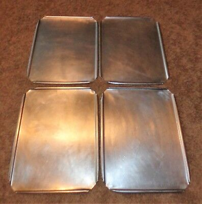 4 Stainless Steel Restaurant Steam Table Pan Lids Covers 16 12 X 12 34 Wide