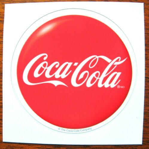 "12 ~ Coca Cola 2 1/4"" Button Decals Coke Stickers    NICE !!!"