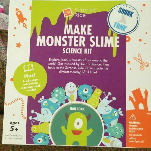 Make Monster Slime | Surprise Ride | DIY | Stem Science Kit | Shark Tank | NEW!