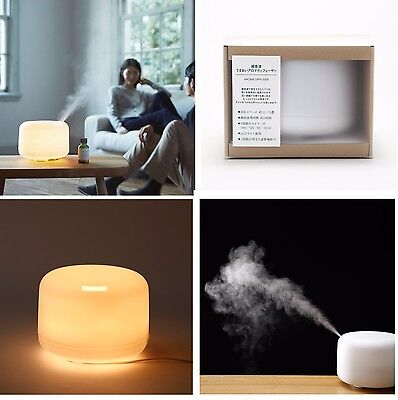 MUJI Aroma Diffuser large ultrasonic waves with LED light Moma f/s with tracking