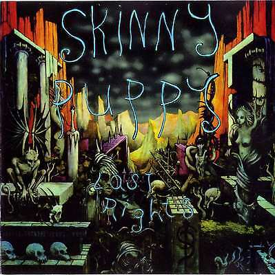 SKINNY PUPPY - Last Rights Album Cover Art Print Poster 12 x 12