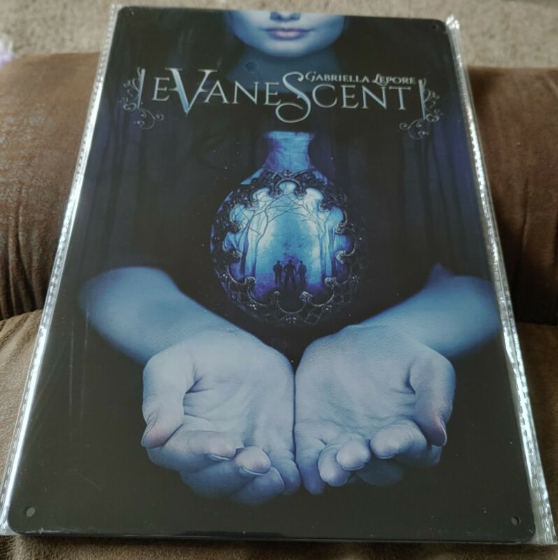 Evanescent Rock Band Poster Style Wall Sign New