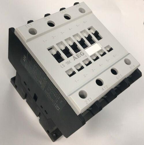 AEG CONTACTOR LS18K-4-E CONTACTOR 480V. AC COIL - 55 AMPS