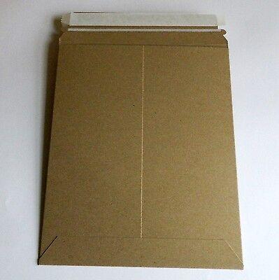 9 34 X 12 14 Cardboard Mailers Kraft Paperboard Rigid Envelope 200lot 5psk